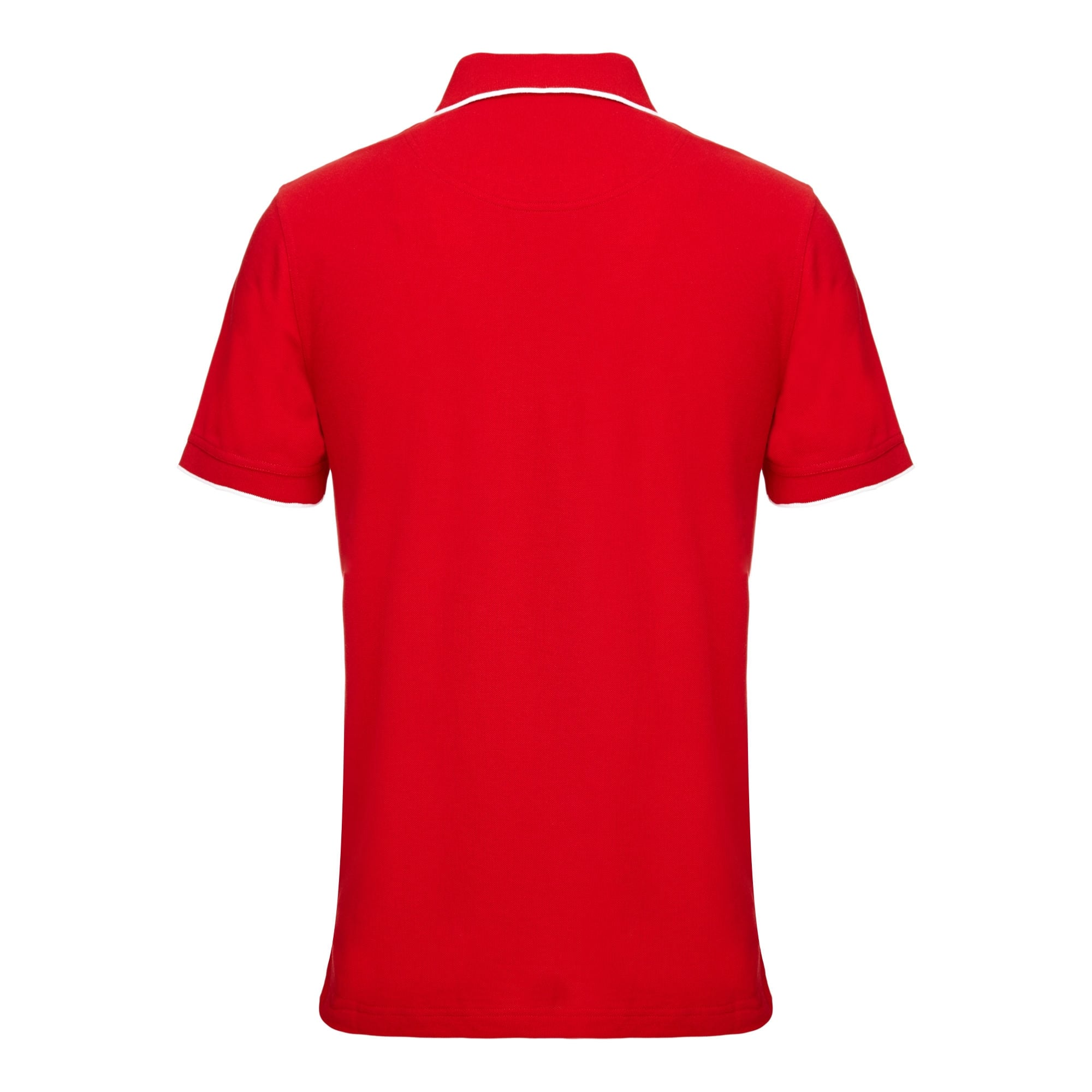 Official Lions Tour 2017 Red Embroidered Supporters Polo