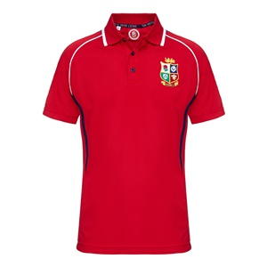 Official Lions Tour 2017 Red Wingers Polo