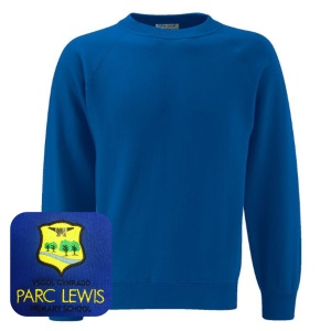 Parc Lewis Primary Blue Sweatshirt