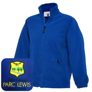 Parc Lewis Primary Blue Fleece Jacket