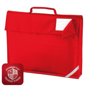 Ffynnon Taf Primary Red Book Bag