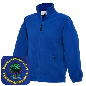 Maesybryn PrImary Blue Fleece Jacket
