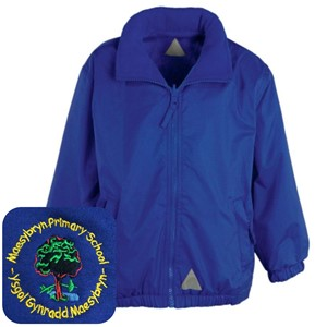 Maesybryn Primary Blue Mistral Jacket