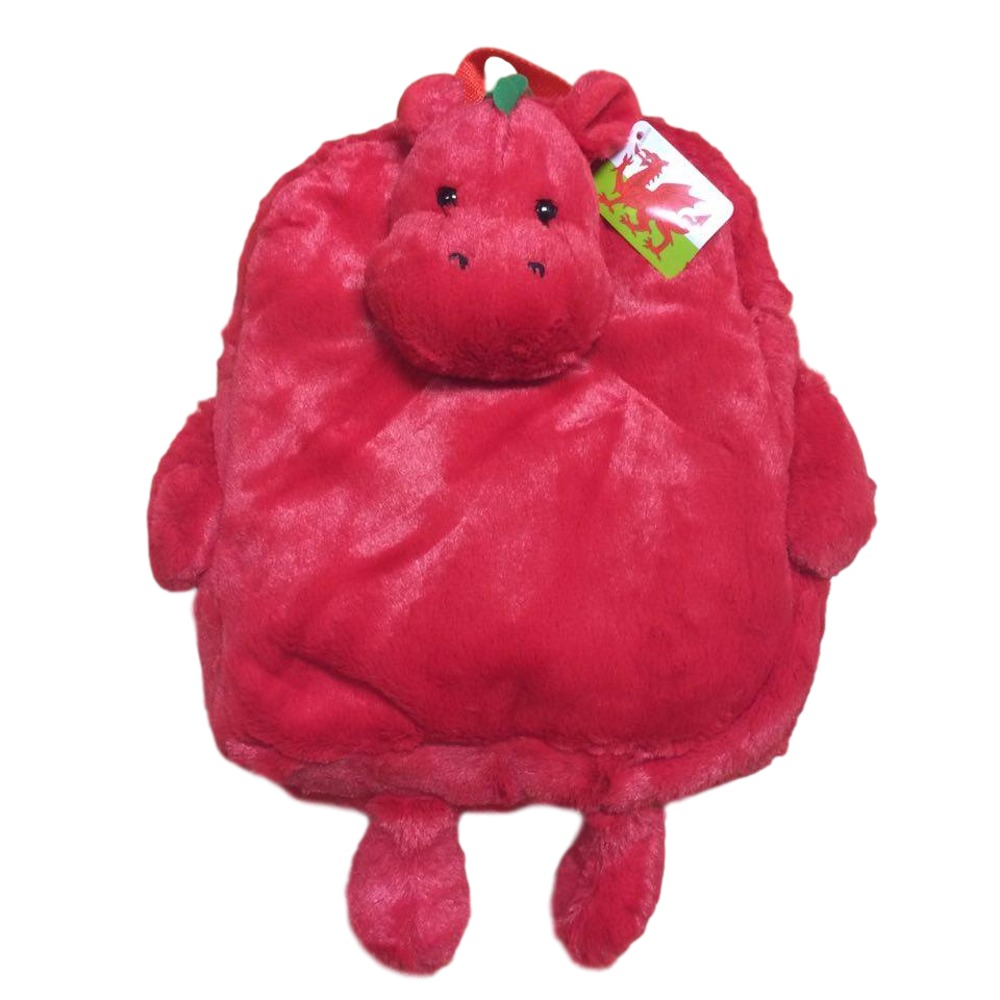 Welsh Dragon Plush Mini Backpack