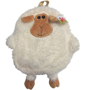 Welsh Fluffy Sheep Plush Mini Backpack