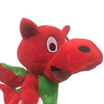 Welsh 'Funny' Dragon Plush