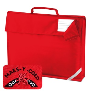 Maes-y-coed Primary Red Book Bag