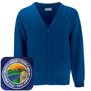 Abercynon Community Primary Blue Cardigan