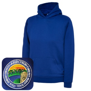 Abercynon Community Primary Blue Overhead Hoodie