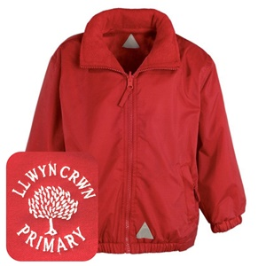 Llwyncrwn Primary Red Mistral Jacket