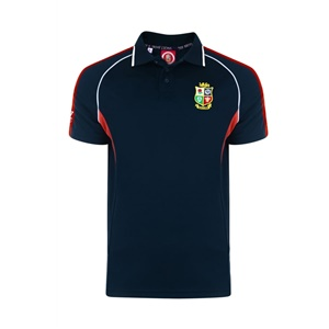 Official Lions Tour 2017 Navy Wingers Polo
