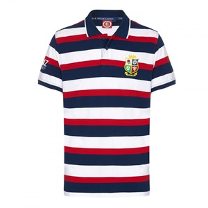 Official British & Irish Lions Hoop Polo Multi