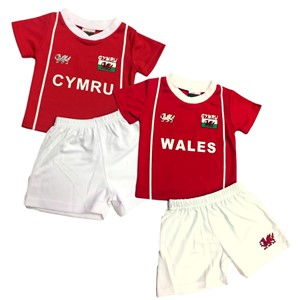 Baby Welsh Football Kit