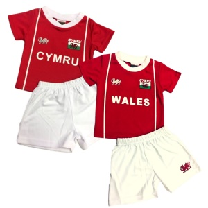 Kids Welsh Football Kit