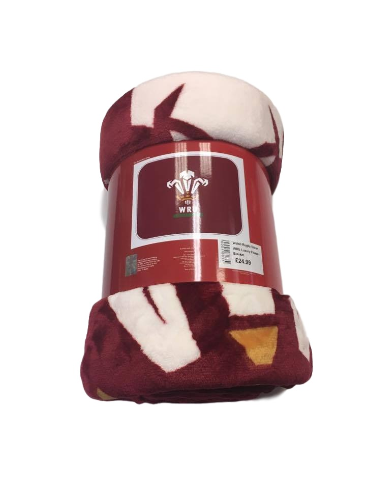 WRU Sherpa Fleece Blanket