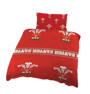 WRU Single Duvet & Pillow case Cover