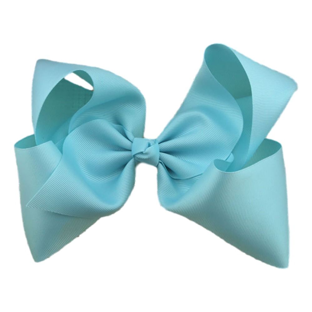 Maya Hair Bow- Sky Blue