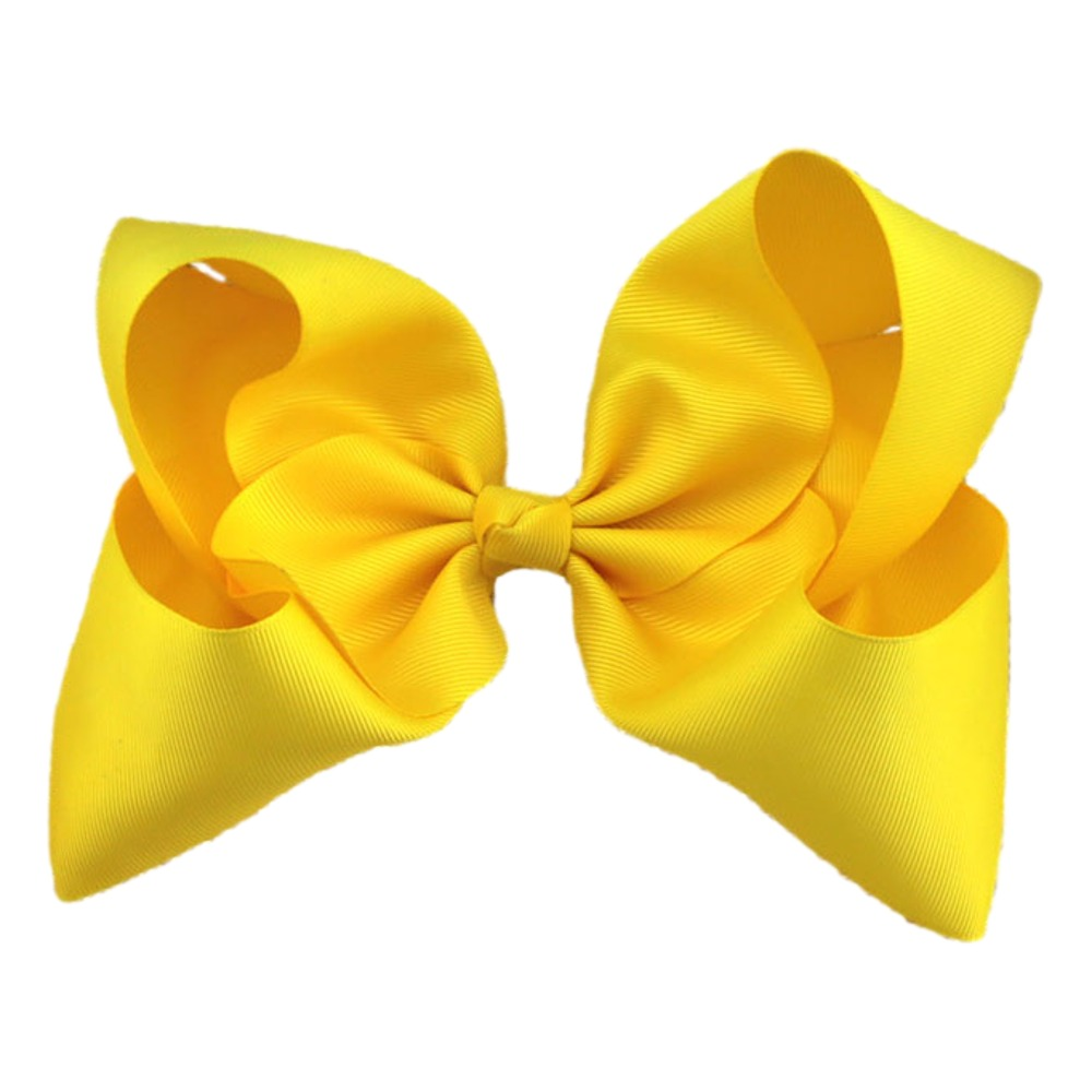 Maya Hair Bow- Yellow