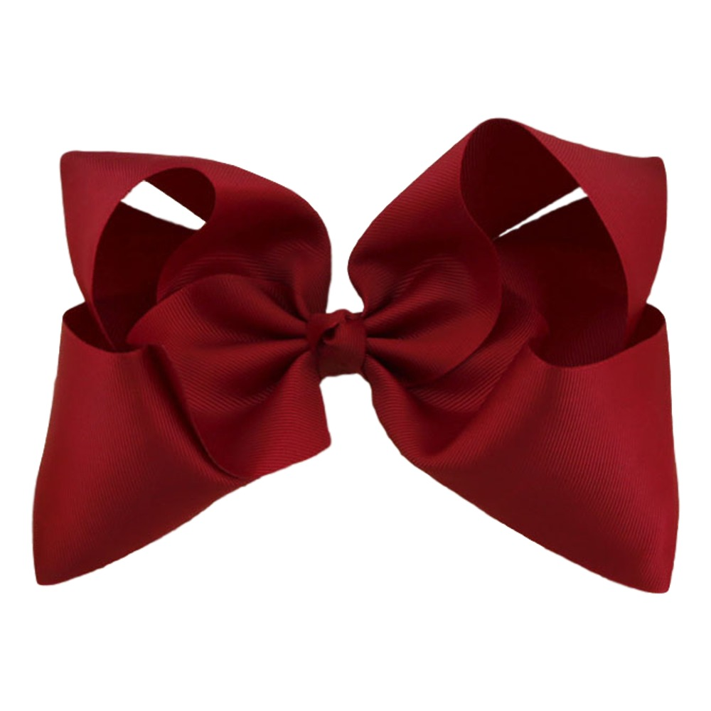 Maya Hair Bow- Red