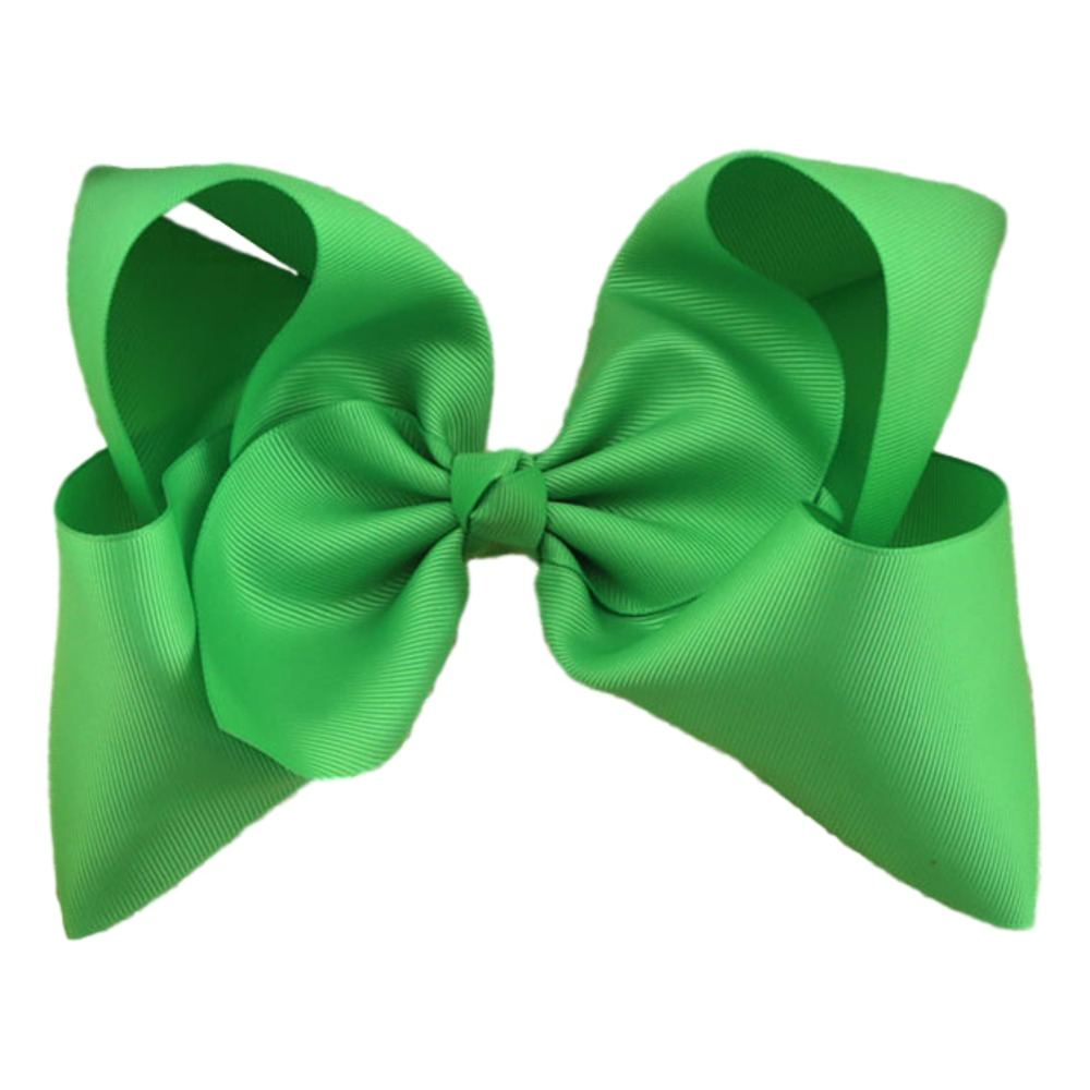 Maya Hair Bow- Green