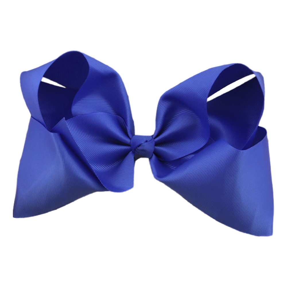 Maya Hair Bow- Royal Blue