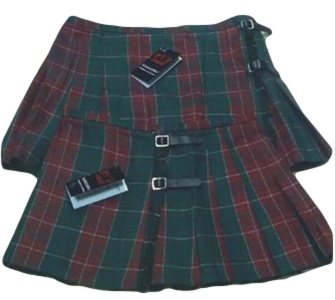 Ladies Tartan Welsh Kilt