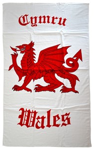 Welsh Beach Towel