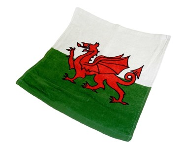 Welsh Flag Facecloth