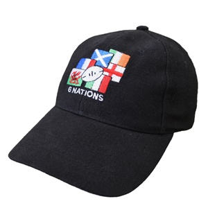 Black Rugby Nations Cap