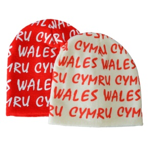 Adults Beckham - Graffiti Welsh Hat