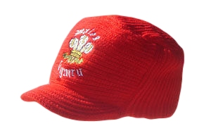 Welsh Dragon knitted Peak Hat