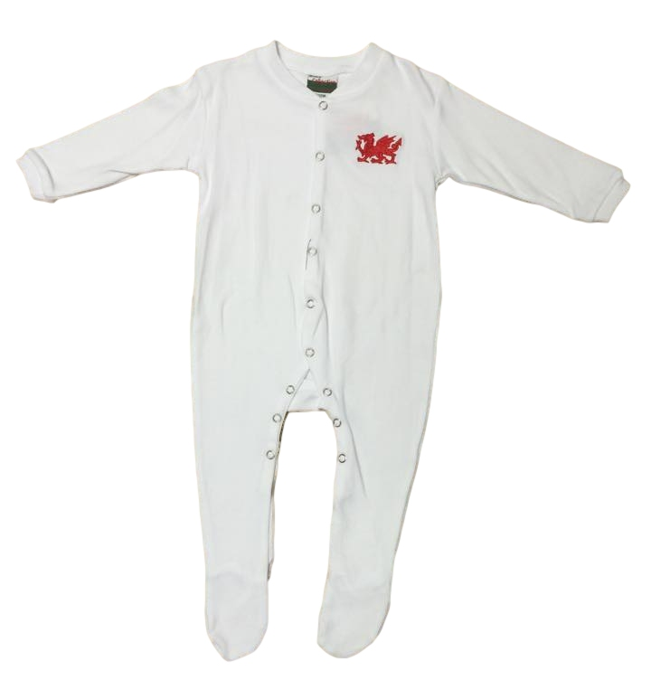 Baby Welsh Sleepsuits