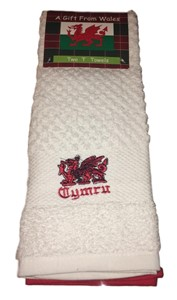 Set of 2 Welsh Tea Towels