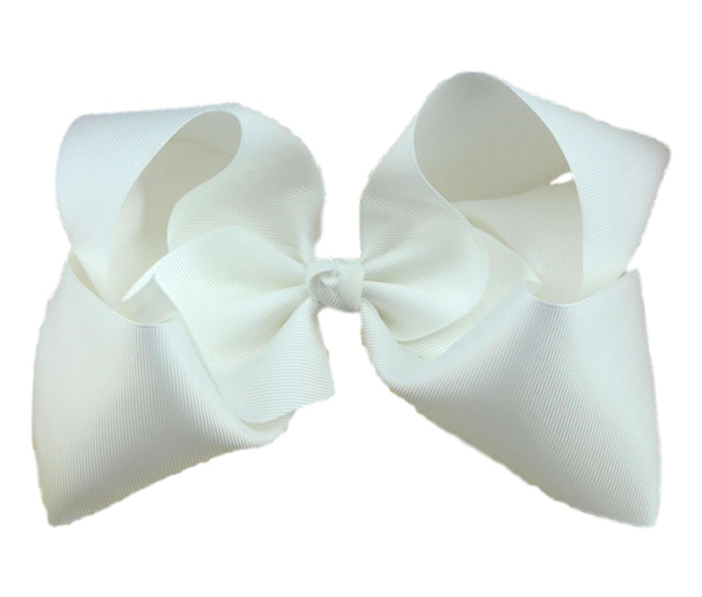 Maya Hair Bow- White