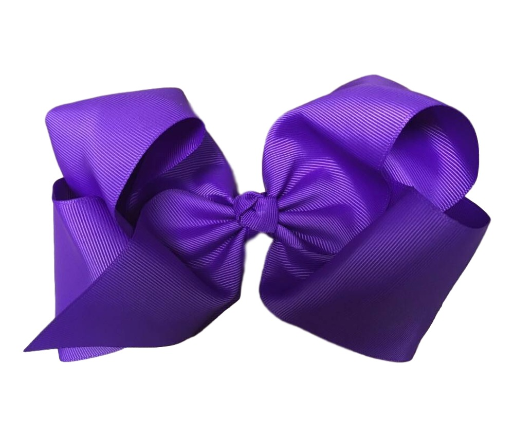 Maya Hair Bow- Purple