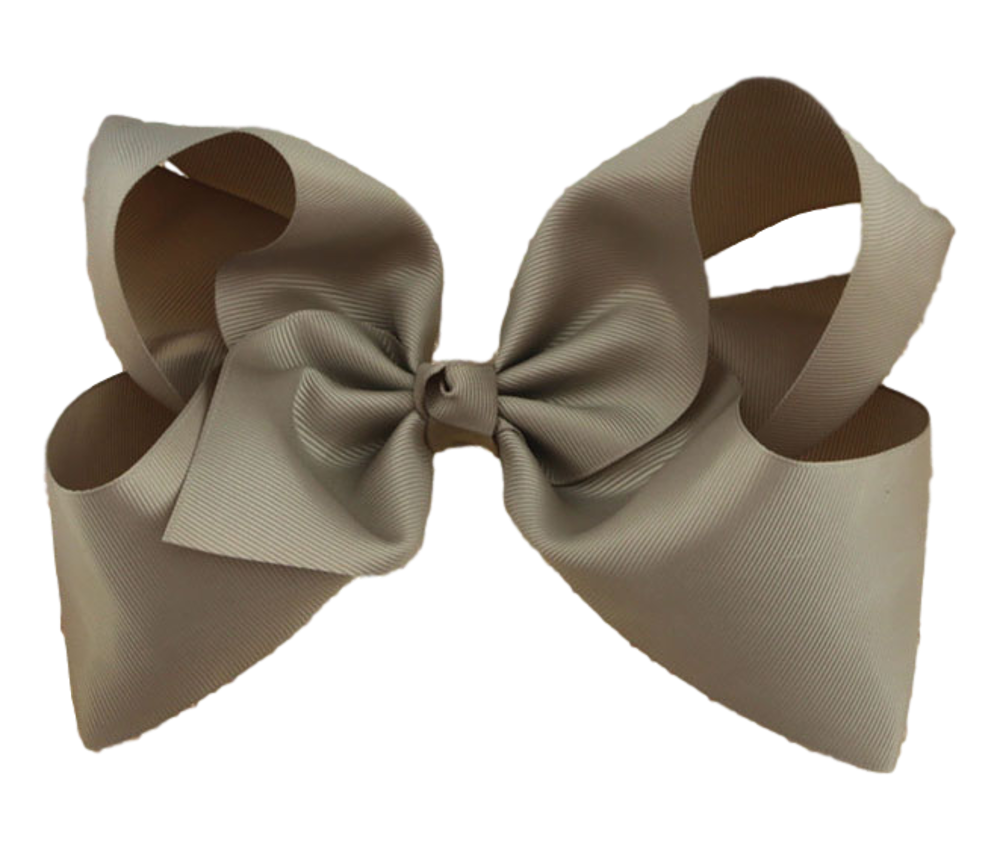 Maya Hair Bow- Mink