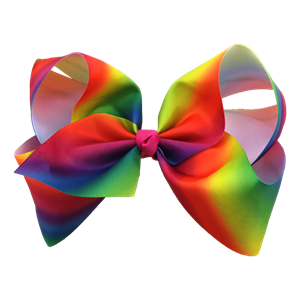 Hareena Hair Bow- Rainbow