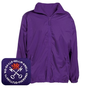 Llanilltud Faerdref Primary Purple Mistral Jacket