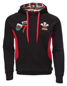 'Tomos' Applique Welsh Hoodie