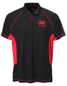 Welsh Cooldry Black Polo