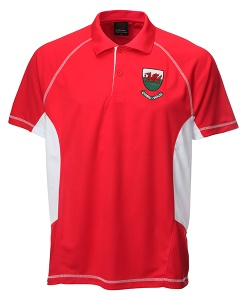 Welsh Cooldry Red Polo