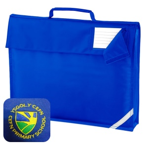 Cefn Primary Blue Book Bag