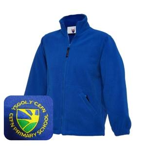 Cefn PrImary Blue Fleece Jacket