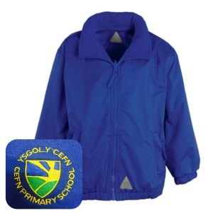 Cefn PrImary Blue Mistral Jacket