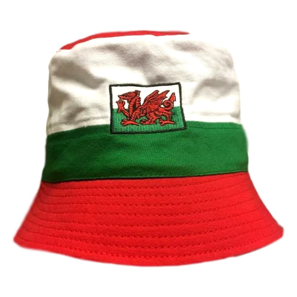 Welsh Bucket Hat Stripe