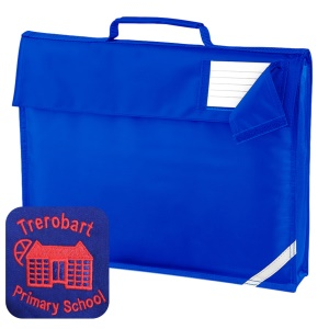 Trerobart Primary School Blue Book Bag