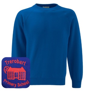 Trerobart Primary School Blue Sweatshirt