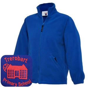 Trerobart PrImary Blue Fleece Jacket
