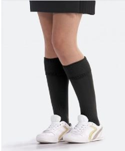 Cardinal Newman Black Sports Socks