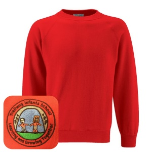 Trallwng Infants Red Jumper